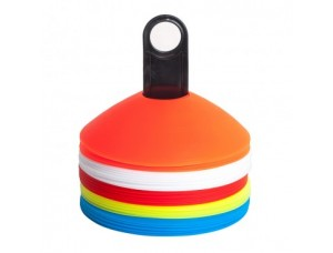 Набор разноцветных конусов