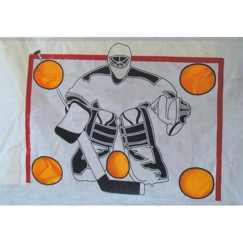 Имитатор хоккейного вратаря сделать своими руками 96